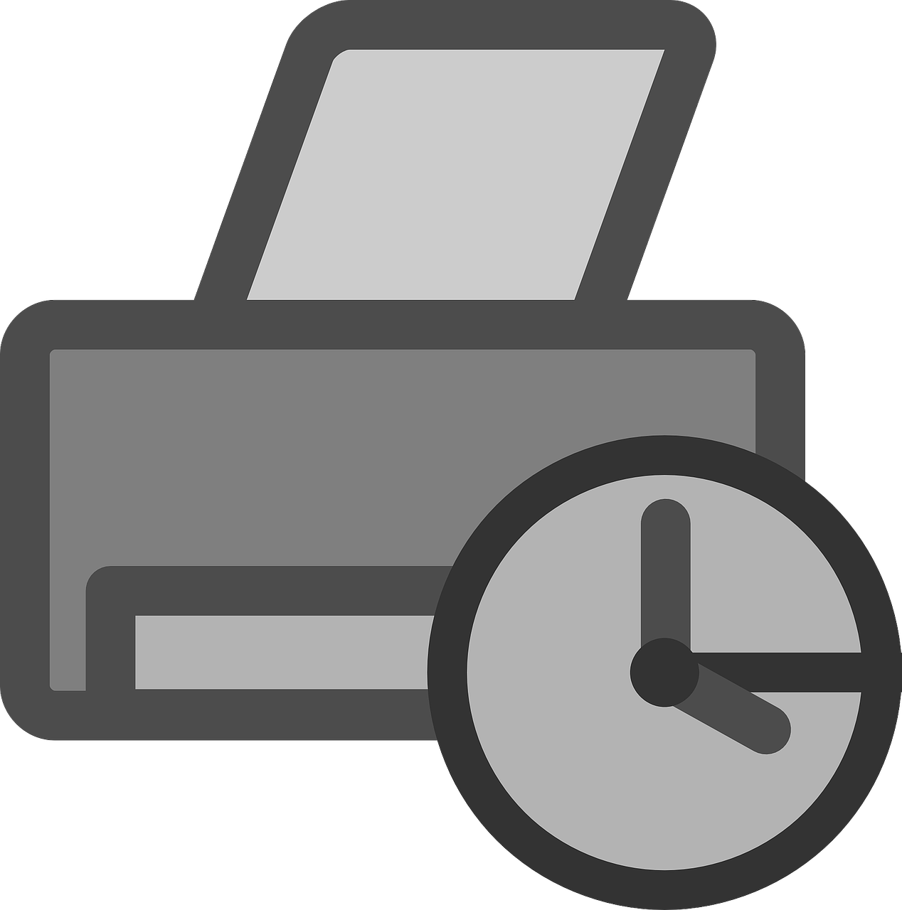 Icone d'une imprimante