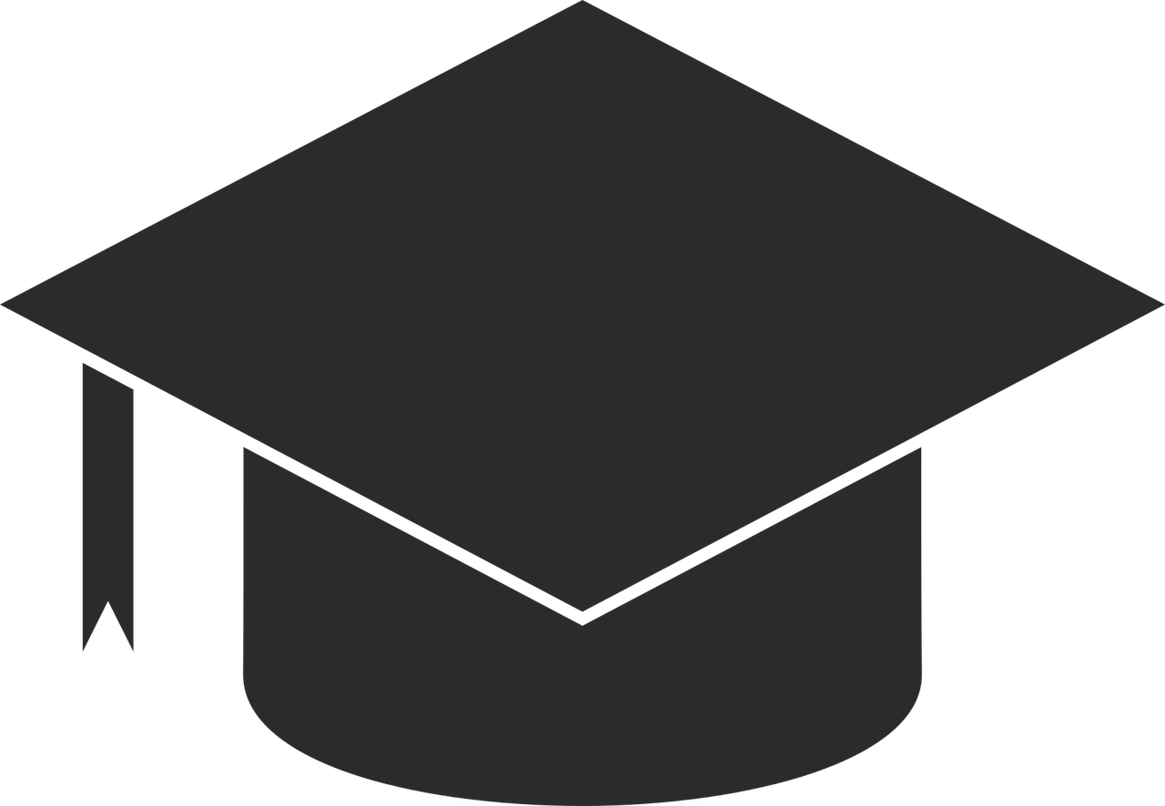 Icon of a square academic hat